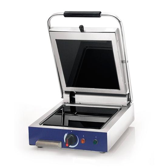grill de contacto con placas en vitrocéramica, 250x250 mm