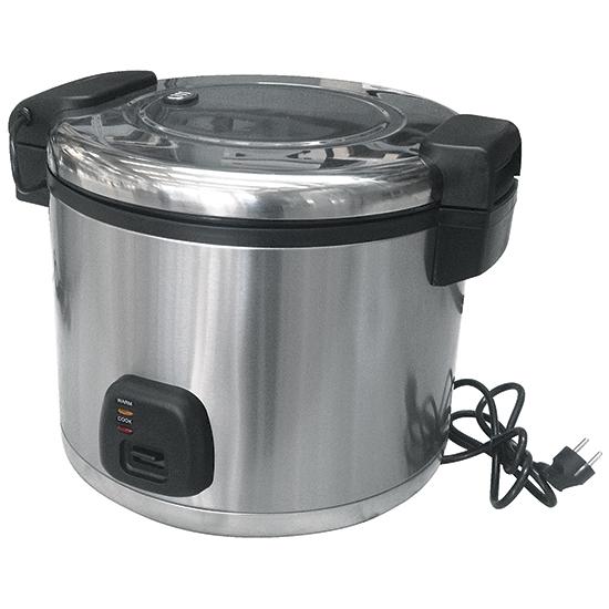Elektro-Reiskocher in Edelstahl, 19 Liter