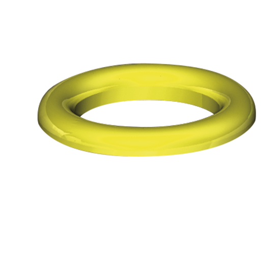 yellow ring for waste bin container
