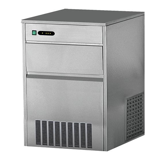 fabricador de cubos de hielo, refrigeración por aire, 25 kg/24 h