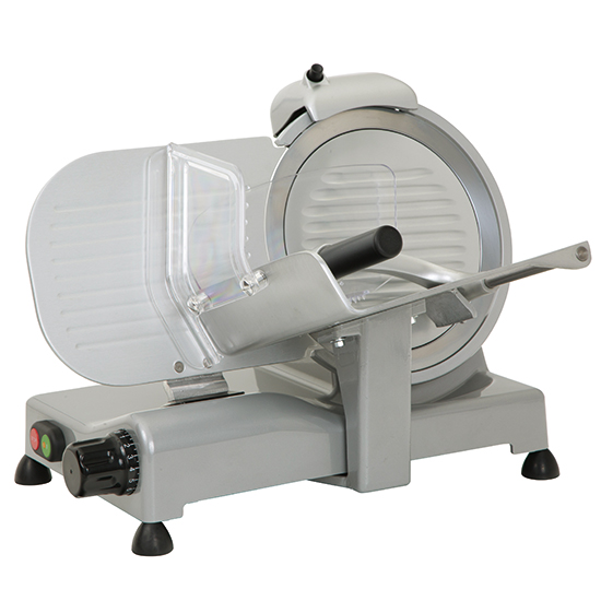 Aufschnittmaschine, Schrägschneidermodell, Messer ø 250 mm