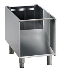 offener Unterbau für Tischgeräte, Breite 450 mm