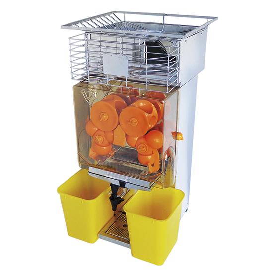 Spremiagrumi automatico, 20-25 arance/ minuto, max. ø 60-80 mm