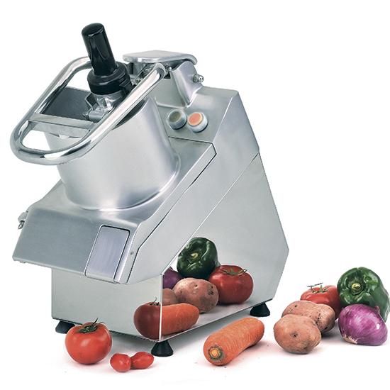 cortadora de verduras con 5 discos, 400 kg/h