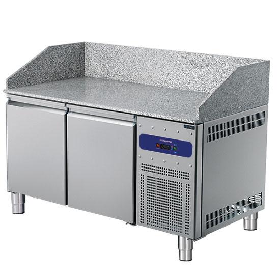 mesa fría pizza 1600 mmcon 2 puertas 600x400 mm - USADO
