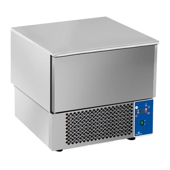 Abbattitore di temperatura 3x GN 1/1 - 600x400 mm, +90°C/-18°C