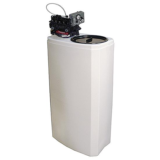 automatischer Wasserentkalker, Kapazität 27 Liter, 1000 Liter/h, Salzreserve 50 kg