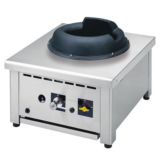 plan de cuisson wok à gaz de table, 1 brûleur