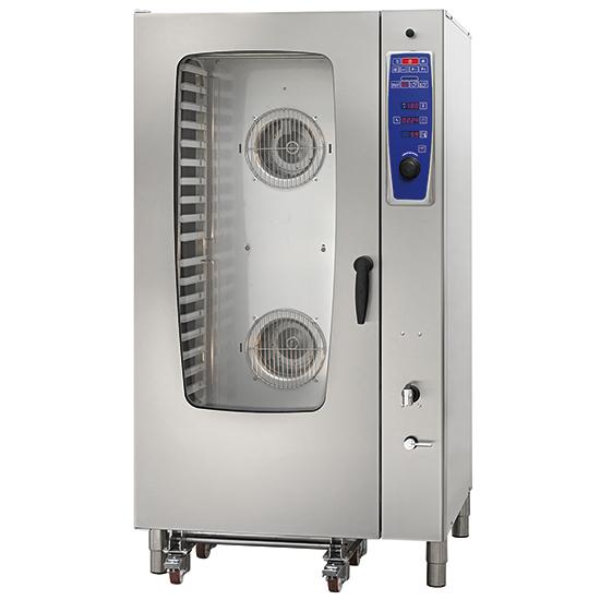 horno mixto eléctrico a vapor directo, 20x GN 1/1
