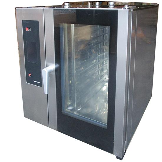 horno mixto a gas a vapor con caldera y sistema de lavado automático, 10x GN 1/1 - USADO