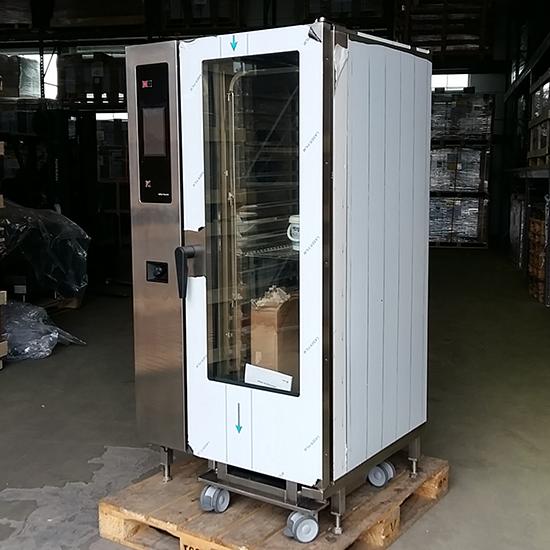 horno mixto eléctrico a vapor con caldera y sistema de lavado automático, 20x GN 1/1 - USADO