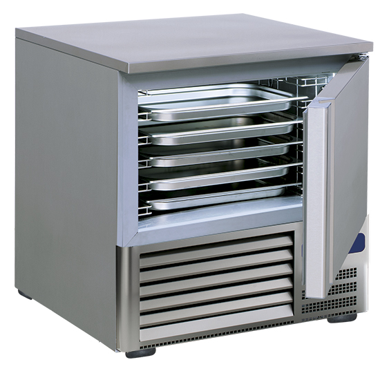 Schockfroster, +90°C/-18°C 20 kg/ 90 min., 5x GN 1/1 oder 60x40