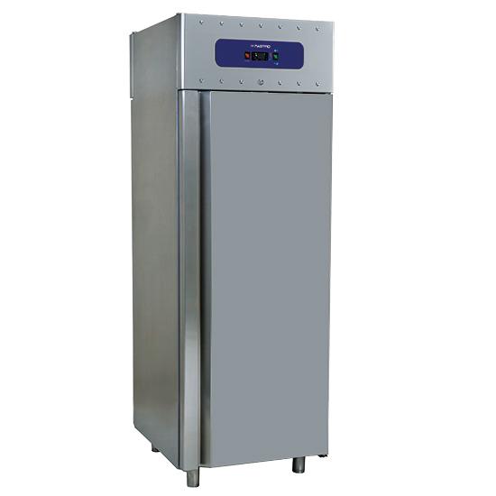 congelatore da 700 litri in inox, GN 2/1, -10°/-22°C