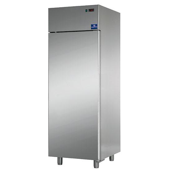 congelatore da 600 litri in inox, -18°/-22°C