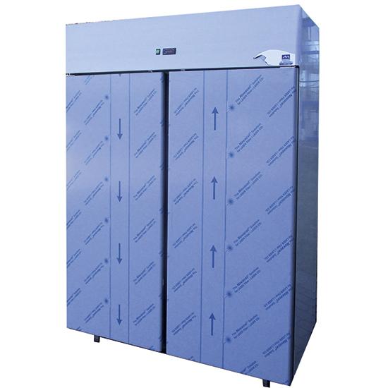 Tiefkühlschrank 1200 Liter aus Edelstahl, -18°/-22°C - DEFEKT