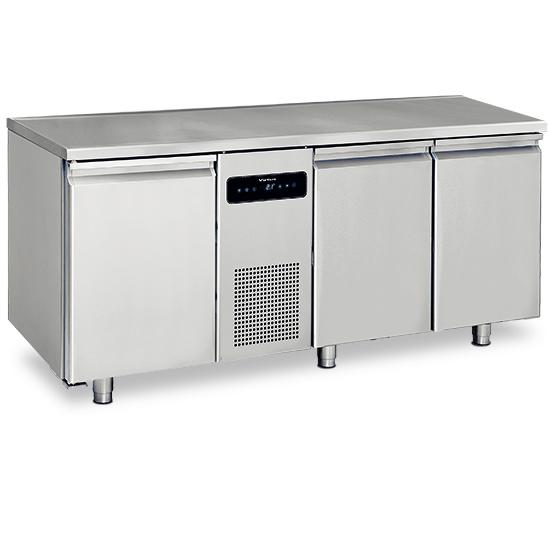 Kühltisch mit 3 Türen GN 1/1, -2°/+8°C