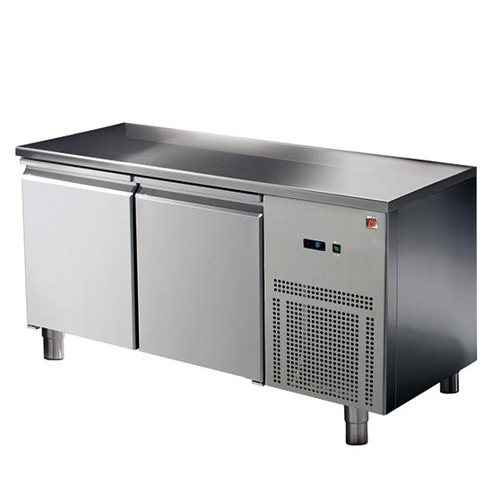 mesa refrigerada 2 puertas GN 1/1, -2°/+8°C
