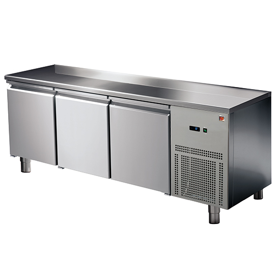 mesa refrigerada 3 puertas GN 1/1, -2°/+8°C