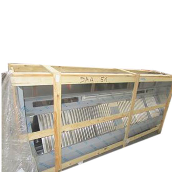 Wandhaube in Kastenform mit Einbaubeleuchtung, 3000x1100 mm -  - BESCHÄDIGT