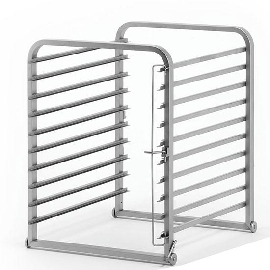 estructura porta-bandejas para carro, 10x GN 1/1