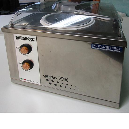 Speiseeismaschine mit Luftkühlung, Tischmodell, Kapazität 1,7 Liter, Produktion 3 kg/h