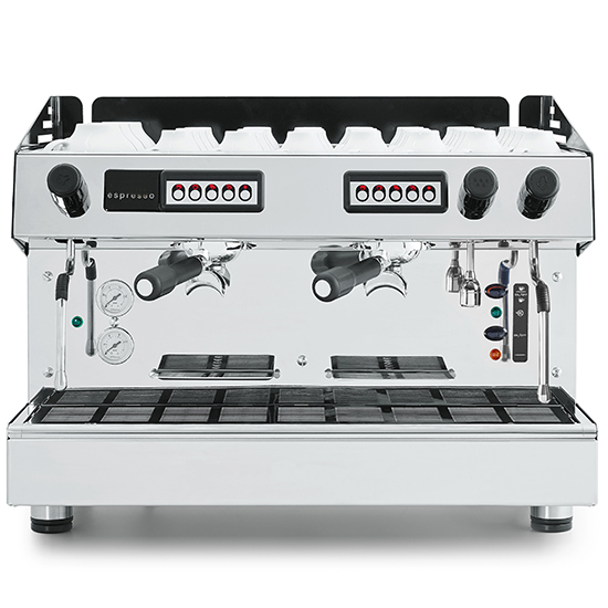 Espressomaschine, automatisch, 2 Gruppen, 9 Liter