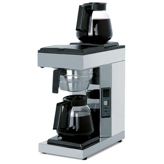 macchina da caffè a filtro automatica con 2 caraffe da 1,8 litri