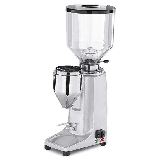 """Kaffeemühle, 1,2 kg Behälter, elektronisch programmierbare Dosierung """"on demand"""", Aluminium"""