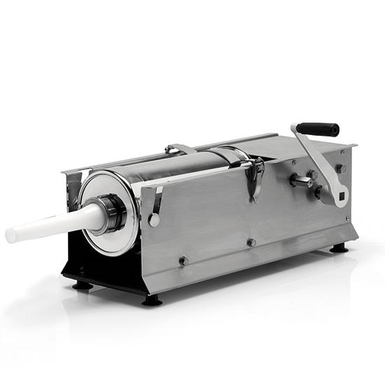 embutidora de salchichas manual, cilindro l=320 mm, 7 litros