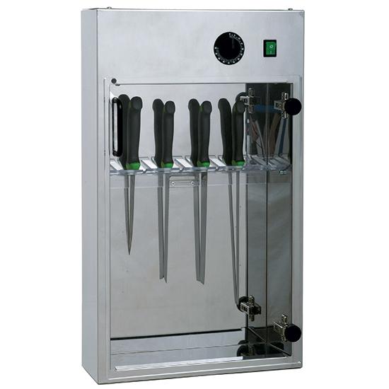 esterilizador cuchillos con temporizador para 20 piezas l=350 mm
