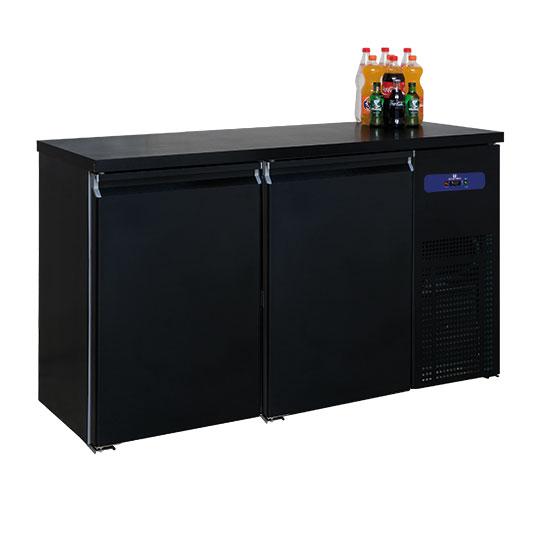 Flaschenkühler mit 2 Türen, 320 Liter, -2°/+8°C