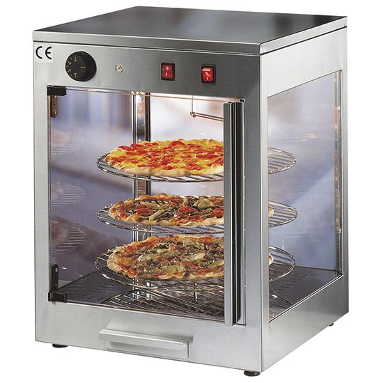 heiße Theke für Pizzen mit 3 Ebenen ø 42 cm