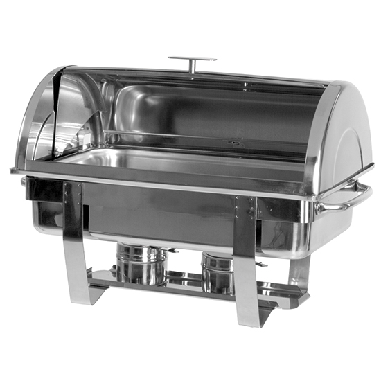 "Chafing Dish mit ""Roll-Top""-Deckel, 1x GN 1/1 H=65 mm"