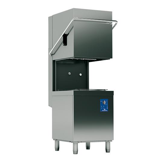 lavastoviglie a capota meccanica, cesto 50x50 cm, max h=44 cm