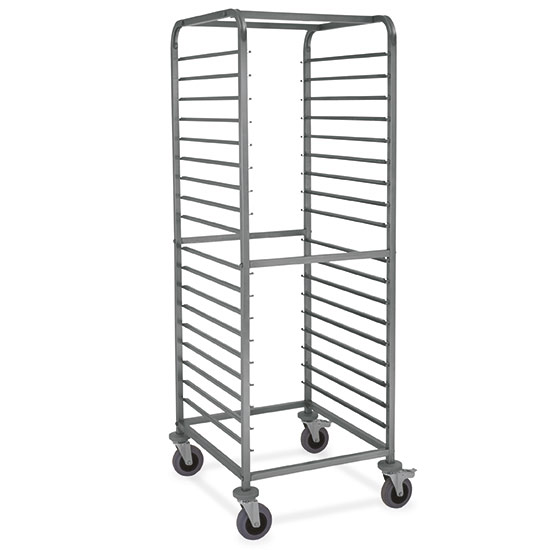 carrello portabacinelle GN, 18x GN 2/1 h=65 mm