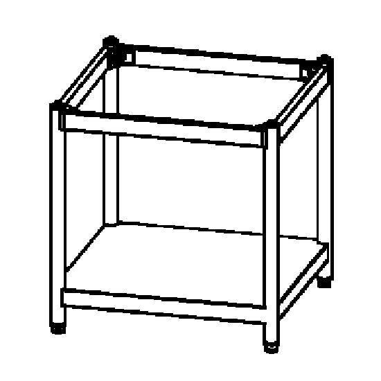 soporte para hornos 10x GN 1/1