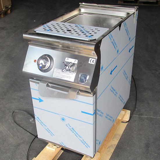 Cuocipasta elettrico, 1 vasca GN 2/3, capacità 1x 26 litri, resistenze fisse - DANNEGGIATO