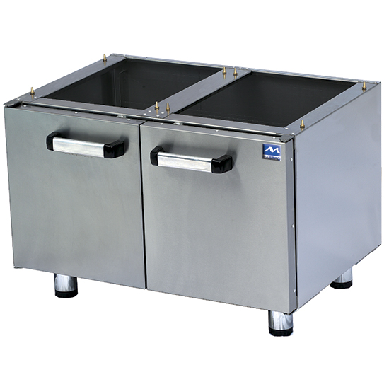under cabinet with doors for tabletop appliances 80 cm