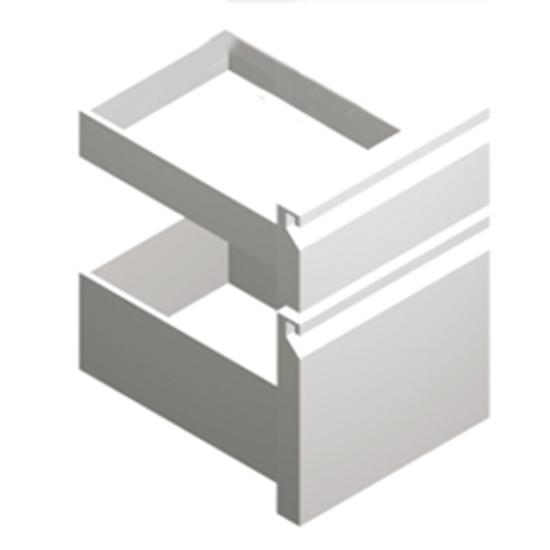 Schubladenkit GN1/3 - 2/3, für Kühltische