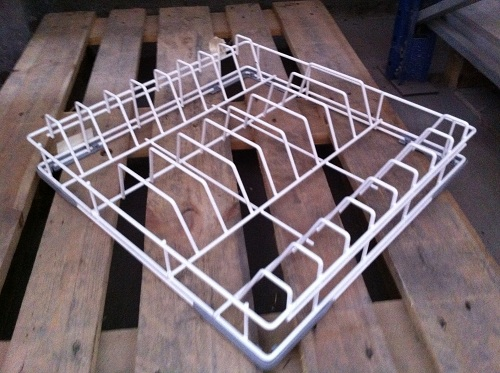 BASKET 500X500 FOR PLATES;MAX. H=320MM