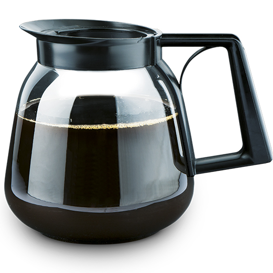 caraffa in vetro per caffè da 1,8 lt.