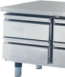 Schubladenkit 2x GN1/2, für Kühltische