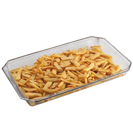 Frittier-Korb GN 1/1 aus rostfreiem Edelstahl