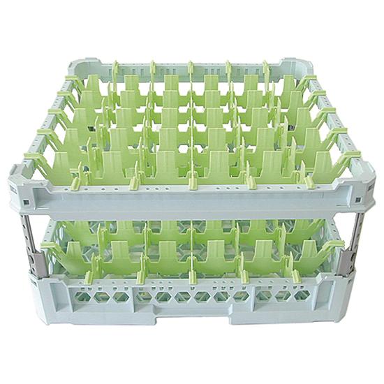 cesta para vasos, capacidad 36 vasos, 500x500 mm