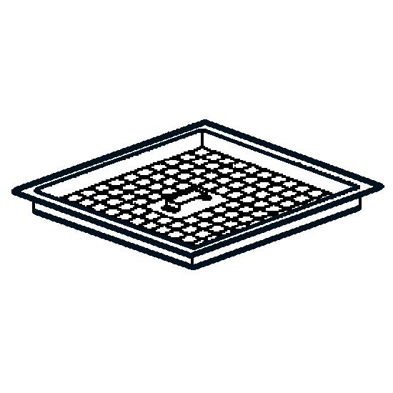 filtro de drenaje para canal colector