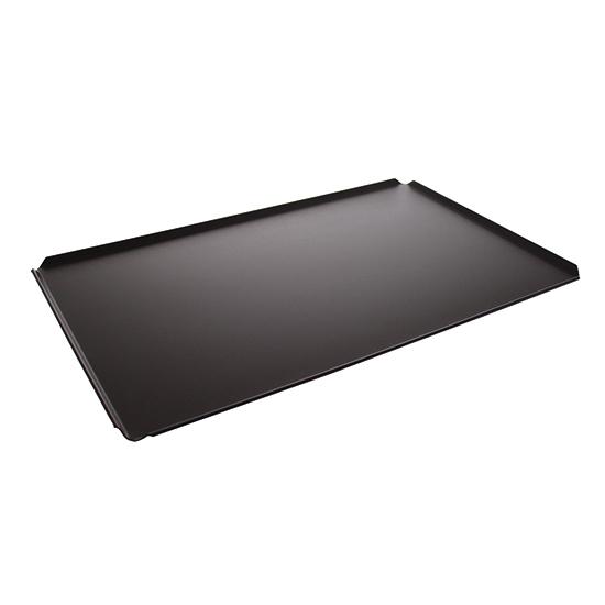 Bandeja de aluminio, GN 1/1 - 4 lados 45°, revestimiento termoplástico