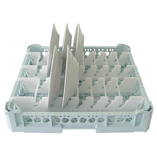 cesta para platos, capacidad 15 platos, 500x500 mm