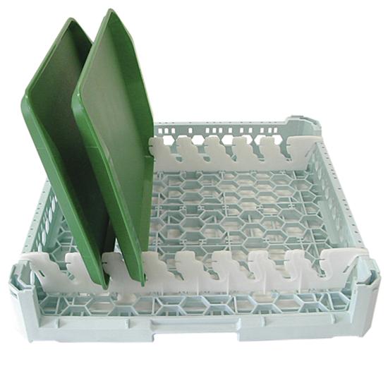 cesta para bandejas, capacidad 8 bandejas, 500x500 mm